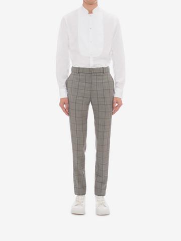 ALEXANDER MCQUEEN Organic Cotton Shirt Long Sleeve Shirt Man r