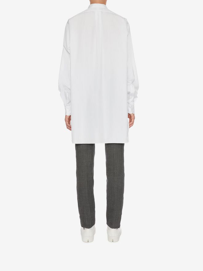 ALEXANDER MCQUEEN Organic Cotton Oversize Shirt Long Sleeve Shirt Man e