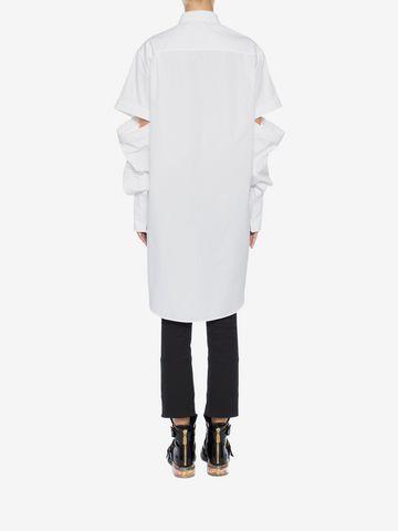 ALEXANDER MCQUEEN Oversized Poplin Shirt Shirts Woman e