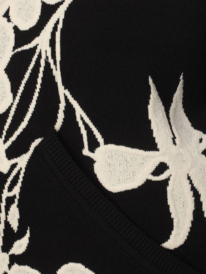 ALEXANDER MCQUEEN Belle Epoque Jacquard Knit Cardigan Knitwear D a