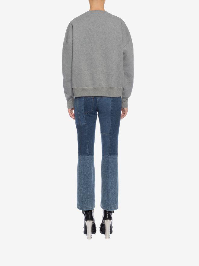 ALEXANDER MCQUEEN Embroidered Sweatshirt Knitwear D e