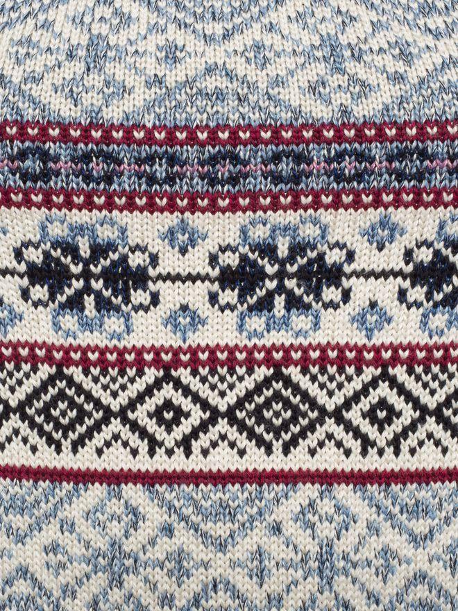 ALEXANDER MCQUEEN Puffed Sleeved Jacquard Jumper Knitwear D a