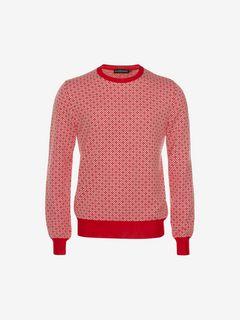 ALEXANDER MCQUEEN Jumper Man Jacquard Sweater f