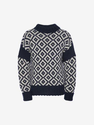 ALEXANDER MCQUEEN Chunky-Knit Sweater Jumper U f