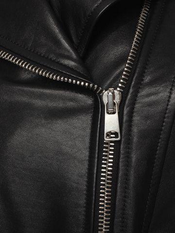 ALEXANDER MCQUEEN Leather Jacket Jacket D a