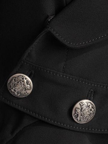 ALEXANDER MCQUEEN Crepe Military Frock Coat Coat D a