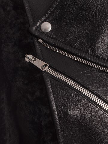 ALEXANDER MCQUEEN Lambskin Leather Jacket Jacket D a