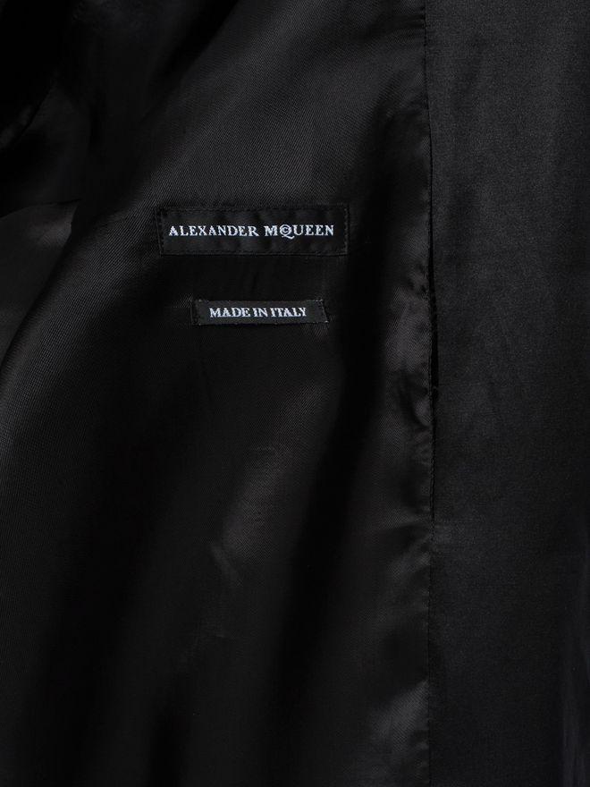 ALEXANDER MCQUEEN Embroidered Skull Blouson Jacket Bomber Jacket U l