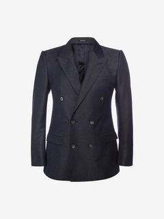 ALEXANDER MCQUEEN Tailored Jacket U Double Breasted Jacket f