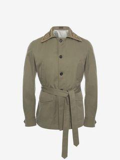 ALEXANDER MCQUEEN Coat U Organic Cotton Coat f