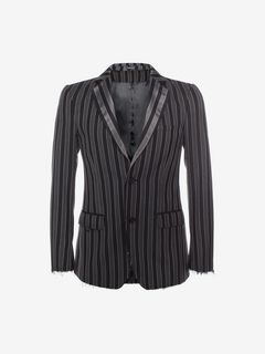 ALEXANDER MCQUEEN Tailored Jacket U Medium Stripe Jacket f
