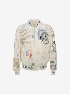 "ALEXANDER MCQUEEN Jacket U ""Letters from India"" Blouson f"