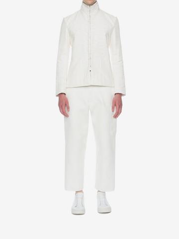 ALEXANDER MCQUEEN Silk Habotai Jacket Jacket U r