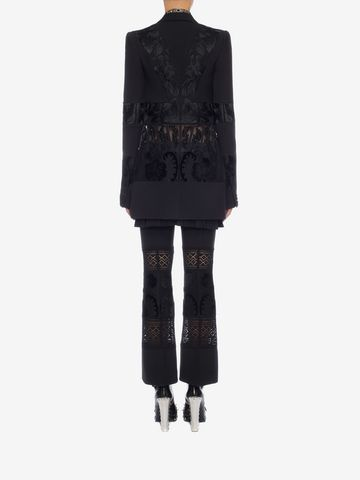 ALEXANDER MCQUEEN Embroidered Corseted Jacket Jacket D e