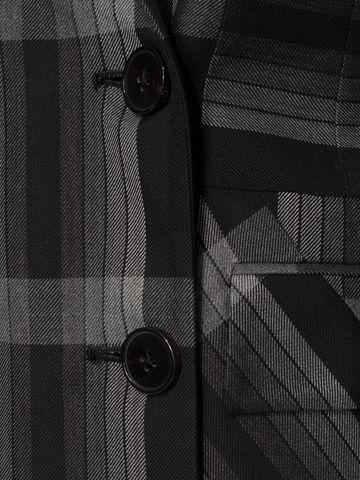 ALEXANDER MCQUEEN Panelled Wool Plaid Jacket Jacket D a