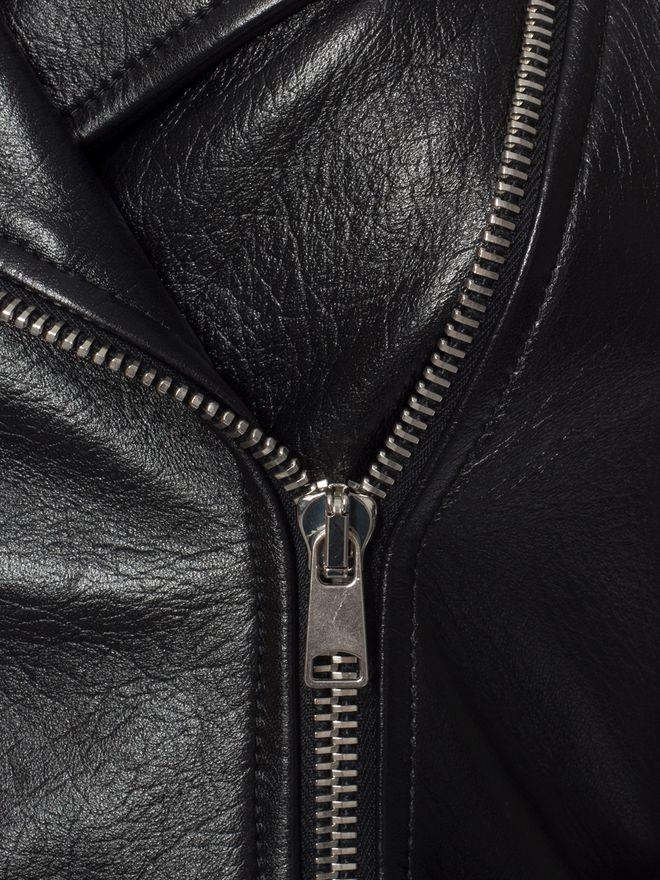 ALEXANDER MCQUEEN Zipped Biker Jacket Jacket D a