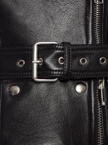 ALEXANDER MCQUEEN Zipped Biker Jacket Jacket D l