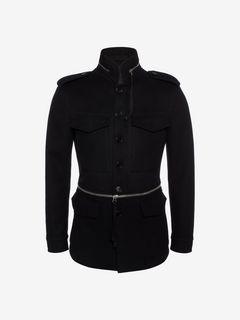 ALEXANDER MCQUEEN Jacket U Wool Cashmere Field Jacket f