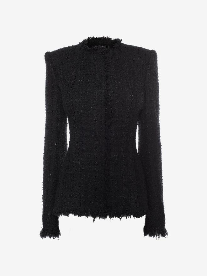 Tweed Jacket Alexander Mcqueen