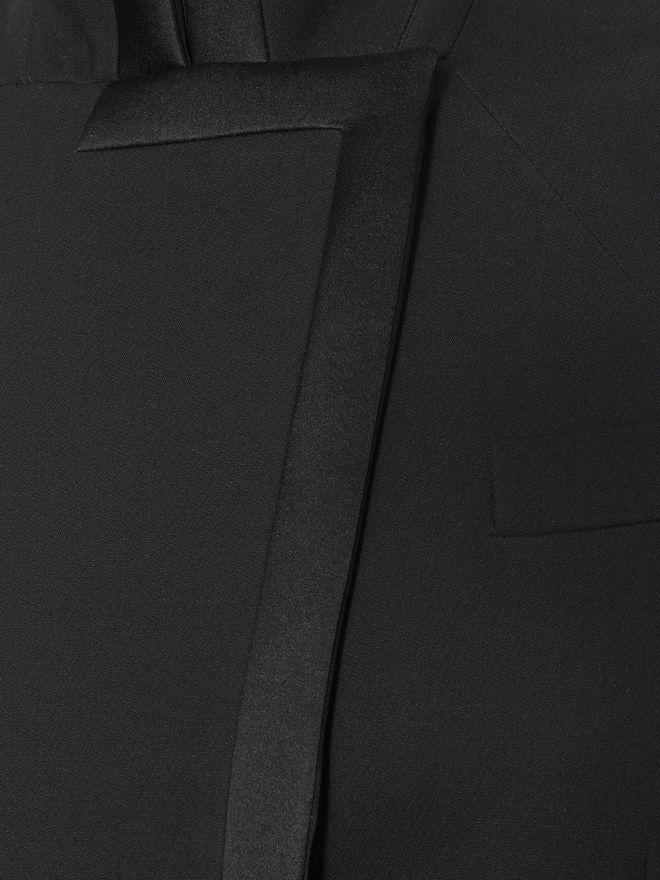 ALEXANDER MCQUEEN Asymmetric Jacket Jacket D a