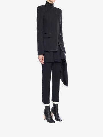 ALEXANDER MCQUEEN Asymmetric Jacket Jacket D d