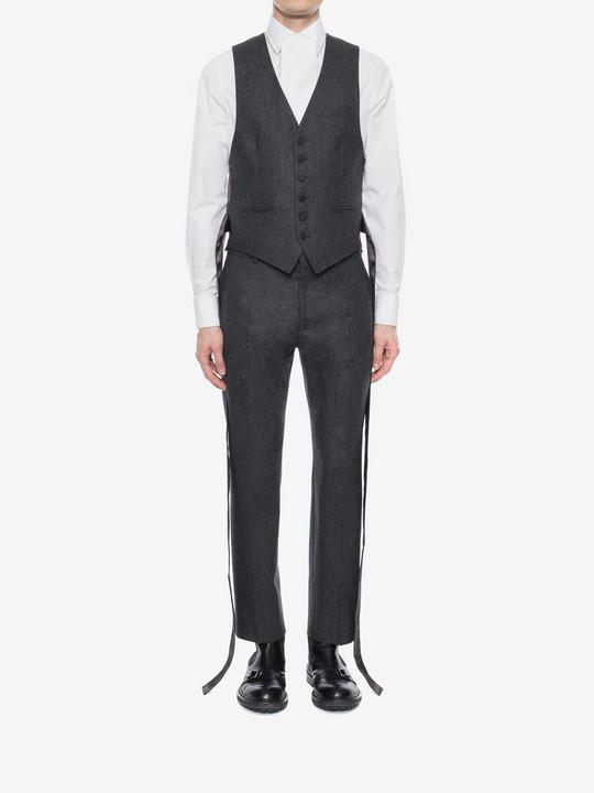 ALEXANDER MCQUEEN Flannel Vest Waistcoats U r