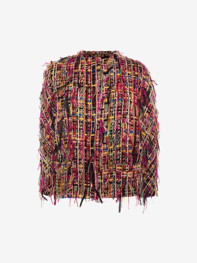 ALEXANDER MCQUEEN Wishing Tree Tweed Jacket Jacket D f