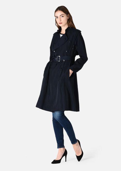 best value good out x beauty TRENCH-COAT AVEC CEINTURE | Femme | Emporio Armani