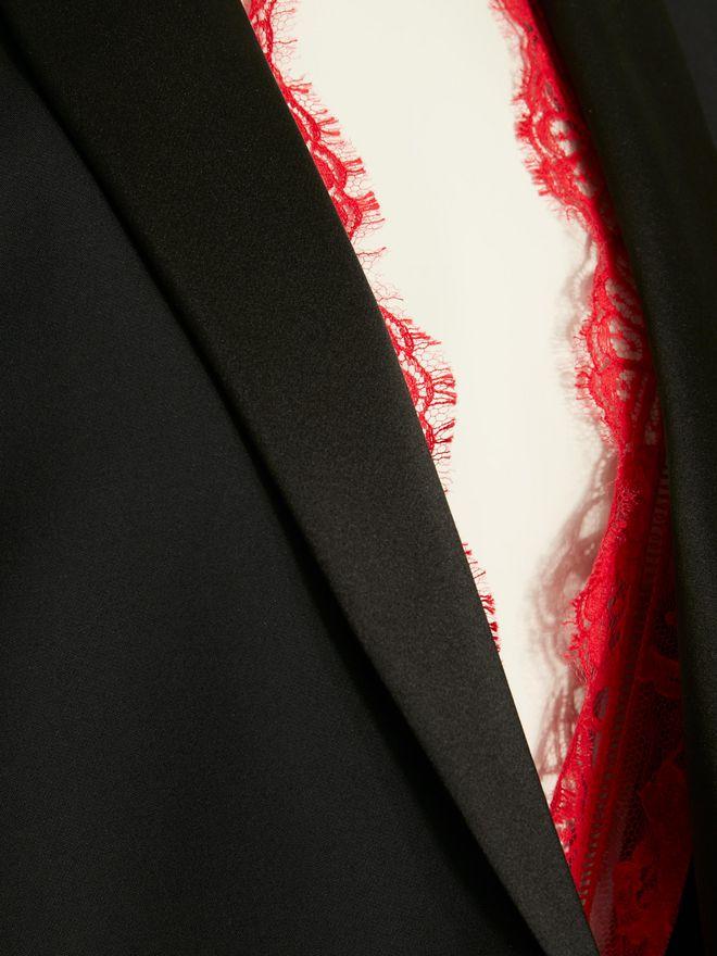 ALEXANDER MCQUEEN Sarabande Lace Box Jacket Jacket Woman a