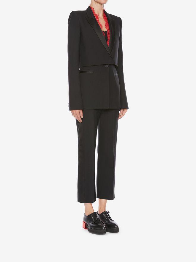 ALEXANDER MCQUEEN Sarabande Lace Box Jacket Jacket Woman d