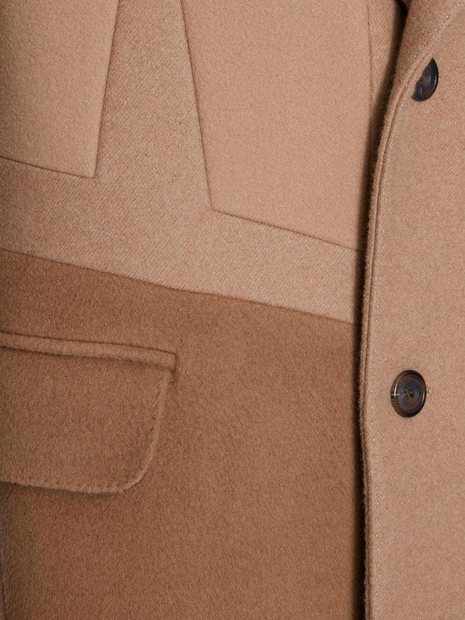 ALEXANDER MCQUEEN Patchwork Coat Coat Man a