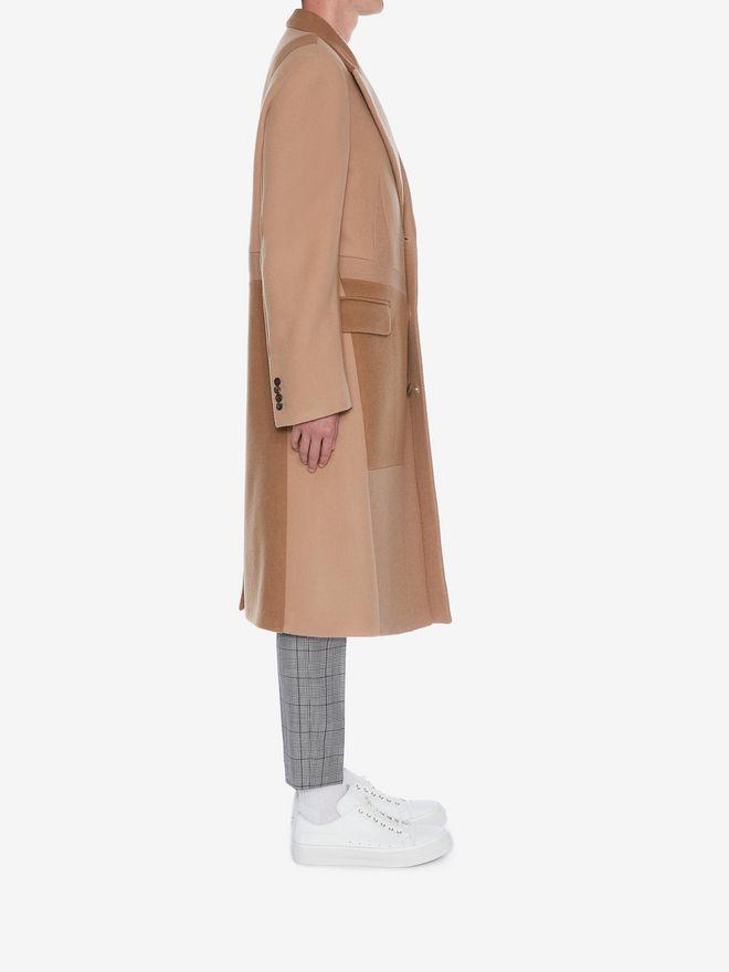 ALEXANDER MCQUEEN Patchwork Coat Coat Man d