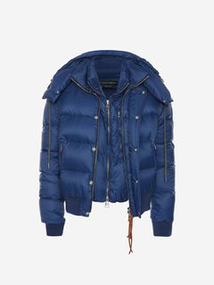 ALEXANDER MCQUEEN Jacket Man Nylon Down Jacket f