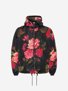 ALEXANDER MCQUEEN Jacket Man Painted Rose Blouson f