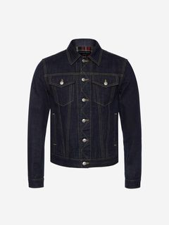 ALEXANDER MCQUEEN Jacket Man Japanese Heavy Denim Jacket f