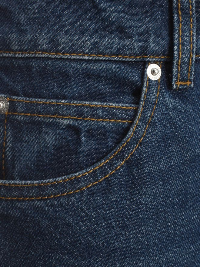 ALEXANDER MCQUEEN Crop Flare Jeans Trousers D a
