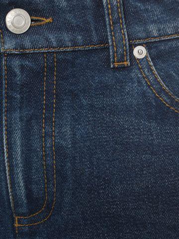 ALEXANDER MCQUEEN Crop Flare Jeans Trousers D l