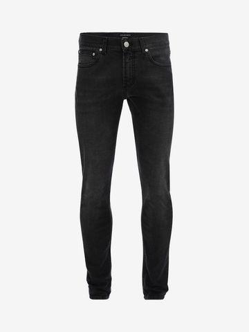 ALEXANDER MCQUEEN Black Skinny Fit Jeans Jeans Man f