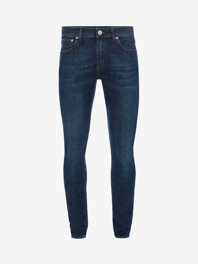 ALEXANDER MCQUEEN Stretch Denim Jeans Jeans U f