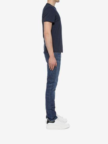 ALEXANDER MCQUEEN Stretch Denim Jeans Jeans U d