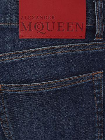 ALEXANDER MCQUEEN Stretch Denim Jeans Jeans U l