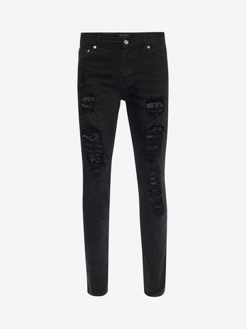 Free Shipping With Mastercard DENIM - Denim trousers Alexander McQueen 2018 Unisex For Sale 6cbL3