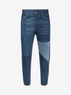 ALEXANDER MCQUEEN Jeans U Patchwork Jeans f