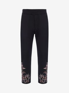 ALEXANDER MCQUEEN Pants U Embroidered Classic Joggers f