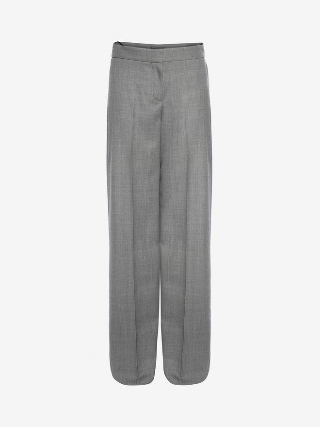 ALEXANDER MCQUEEN Wide Leg Trousers Pants D f