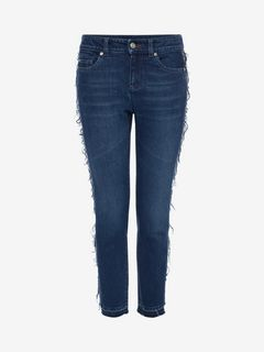 ALEXANDER MCQUEEN Jeans D Distressed Jeans f