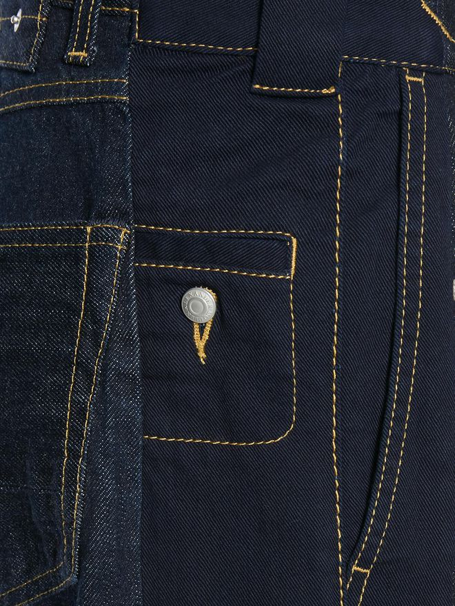 ALEXANDER MCQUEEN Selvedge Jeans Jeans Man a