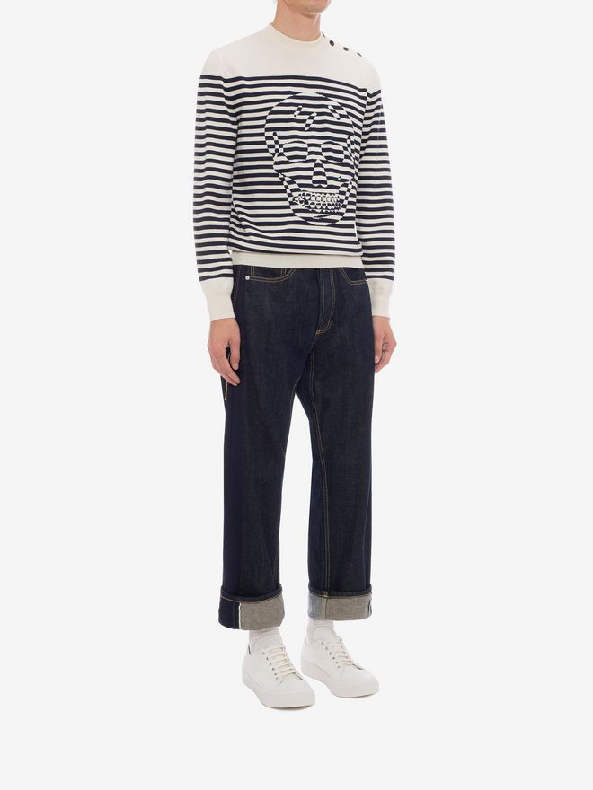 ALEXANDER MCQUEEN Selvedge Jeans Jeans Man d