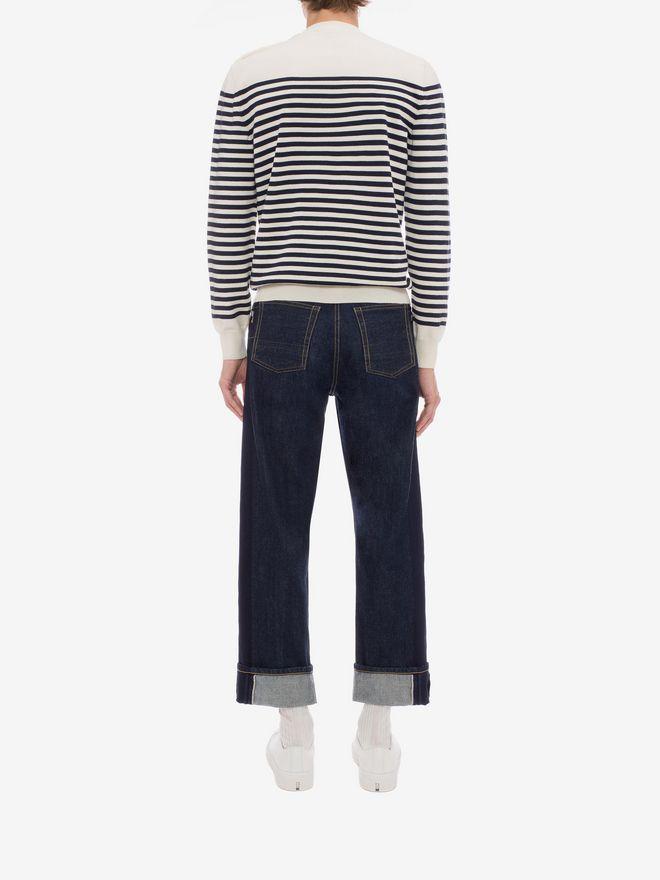 ALEXANDER MCQUEEN Selvedge Jeans Jeans Man e