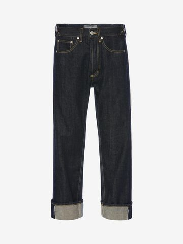 ALEXANDER MCQUEEN Selvedge Jeans Jeans Man f